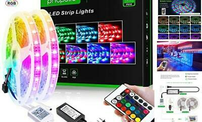 $39.21 • Buy LED Strip Lights For Room With Remote Bluetooth, 32.8Ft RGB 5050  Color Change