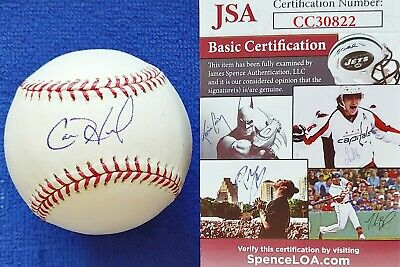 $ CDN99.07 • Buy Jsa Certified Cole Hamels Phillies Braves Signed Rawlings Official Ml Baseball