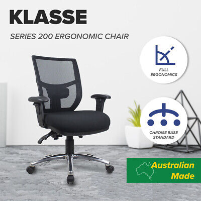 AU297 • Buy Office Chair Mesh Fully Ergonomic Computer Chairs Posture Correct Back Support