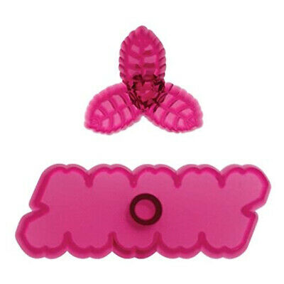 JEM Set Of 2 CUPID ROSE Flower Icing Cut Out Cutters Sugarcraft Cake Decoration • 2.59£