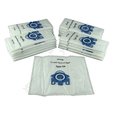 FITS MIELE GN Type Hoover VACUUM DUST BAGS X 20 FREE SHIP • 14.95£