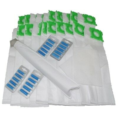 20 DUST BAGS For SEBO Vacuum Hoover FILTERS AIR FRESHENERS SERVICE KIT X1 X4 X5 • 13.49£