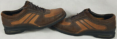 Men's Rockport Leather Shoes, Brown, UK Size 9.5, W. • 24.99£