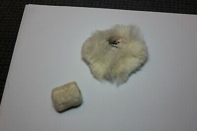 $ CDN12.69 • Buy Vintage Barbie Doll #983 Enchanted Evening White Fur Stole With Pink Lining Muff