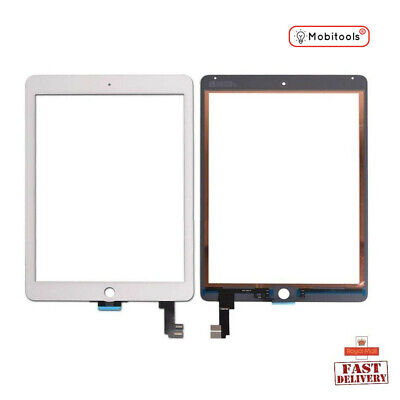 Replacement Touch Glass Screen Digitizer Lens For Apple IPad Air 2 (White) • 19.88£