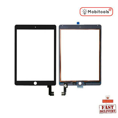 Replacement Touch Glass Screen Digitizer Lens For Apple IPad Air 2 (Black)  • 19.88£