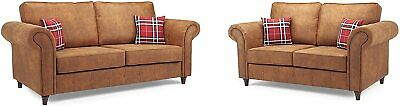 Sofa Oakland - 3 Seater - 2 Seater - Armchair - &  2C1 - 1C2 - Faux Leather • 659£