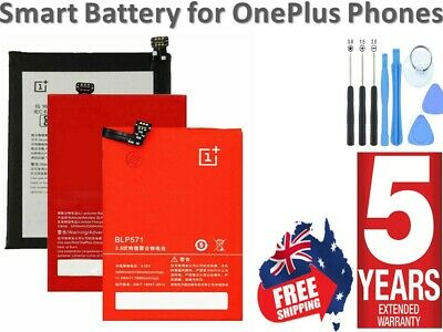 AU20.32 • Buy *2021* Battery Replacement For OnePlus 1+ 1 2 3 3T 5 5T 6 6T 7 7T 8 Pro AU Stock