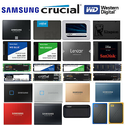 AU63 • Buy Portable & Internal Solid State Drive 2.5  Inch M.2 NVMe Laptop/PC External SSD