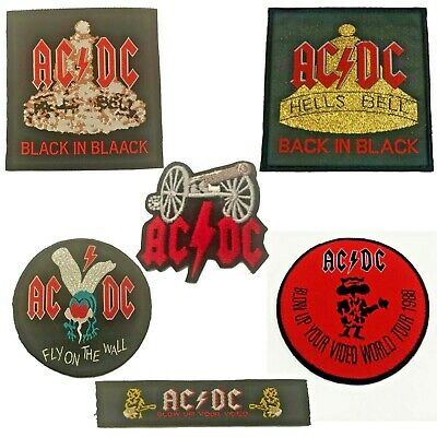 £1.89 • Buy Acdc Rock Metal Band Embroidered Patch Logo