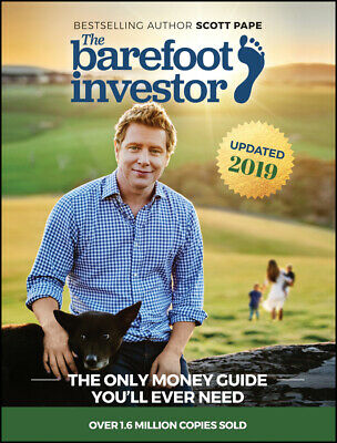AU32.69 • Buy NEW BOOK The Barefoot Investor - The Only Money Guide You'll Ever Need By Scott