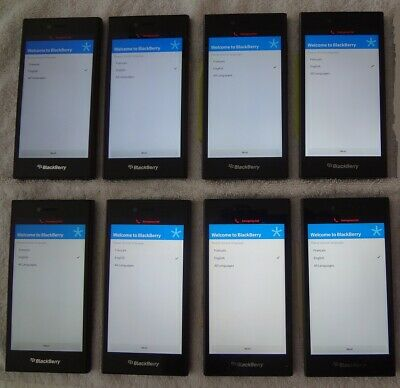 $ CDN400 • Buy LOT OF 8 - Blackberry Leap - 16GB Shadow Gray Smartphones
