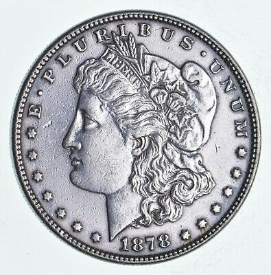 $24.50 • Buy First Year - 1878 Morgan Silver Dollar - Tough Coin Unchecked For Varieties *217
