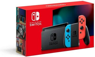 $ CDN599 • Buy BRAND NEW Nintendo Switch Version 2 Red And Blue Joy-Con SHIPS RIGHT AWAY