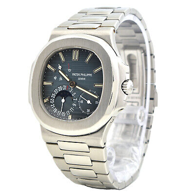 £92956.55 • Buy NEW Patek Philippe WITH BOX & PAPERS Nautilus 5712 In Steel And Blue Dial (GP-1)