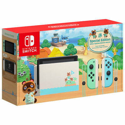 $ CDN915 • Buy Animal Crossing Special Edition Nintendo Switch Console BRAND NEW Limited AC