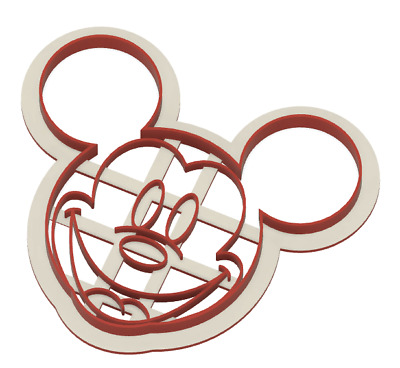 Mickey Mouse Cookie / Fondant Cutter 3d Printed • 4.50£
