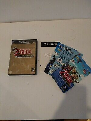 $19.95 • Buy Legend Of Zelda: The Wind Waker (GameCube, 2003) *CASE & MANUAL ONLY* NO GAME!