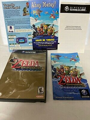$24.95 • Buy The Legend Of Zelda Wind Waker Nintendo GameCube Case & Booklets NO GAME DISC