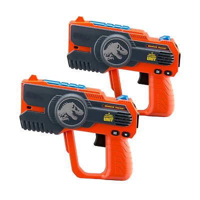 £34.99 • Buy Jurassic World Laser Tag Blasters For Kids Infrared Sensors With Lights & Sounds