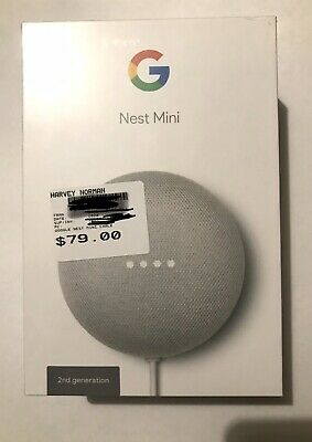 AU10.50 • Buy Google Nest Mini (2nd Generation) Smart Speaker - Chalk