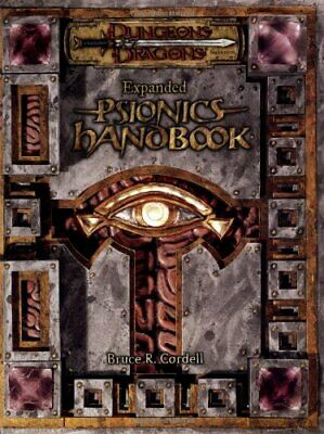 AU170.94 • Buy Expanded Psionics Handbook (Dungeons & Dragons D20 3.5 Fantasy Roleplaying Su...