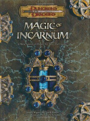AU158.38 • Buy Magic Of Incarnum (Dungeons & Dragons D20 3.5 Fantasy Roleplaying)