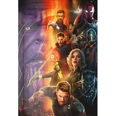 £34.05 • Buy Avengers Infinity War Marvel Jigsaw Puzzle 500 Pieces Toys Hobbies