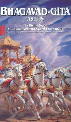 AU82.62 • Buy Bhagavad-Gita As It Is (English And Sanskrit Edition)