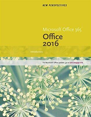AU126.61 • Buy New Perspectives Microsoft Office 365 & Office 2016: Introductory Spiral Boun...