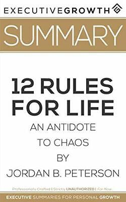 AU40.24 • Buy Summary: 12 Rules For Life - An Antidote To Chaos By Jordan B. Peterson