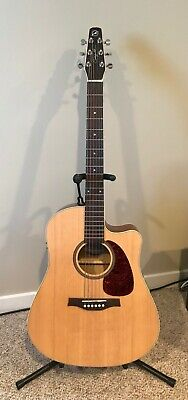 $449 • Buy Seagull Coastline S6 Slim CW Spruce QI Acoustic/Electric Guitar