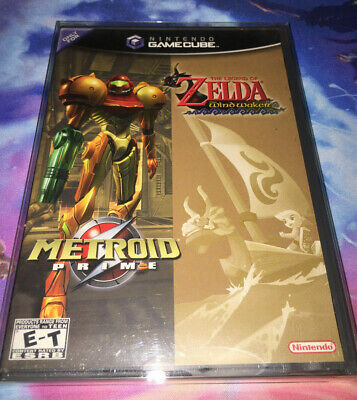 $599.99 • Buy GameCube Complete Legend Of Zelda Wind Waker Metroid Prime Combo 100% Authentic