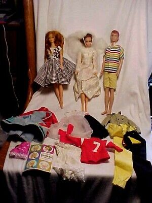 $ CDN35.26 • Buy Vintage Barbie,stacey Tnt  And Alan Lot With Clothes