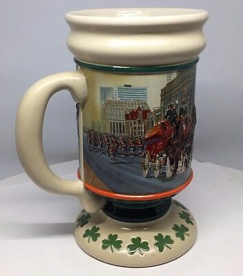 $ CDN59.94 • Buy 2006 Budweiser St Patrick's Day Stein CS635  Anheuser-Busch Mug Holiday Series
