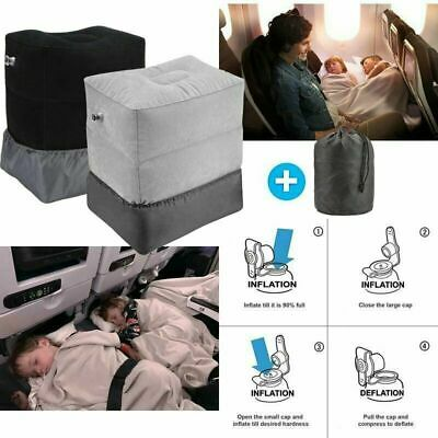 AU20.99 • Buy Inflatable Travel Footrest Leg Foot Rest Pillow Portable Air Pad Relax Kids Bed
