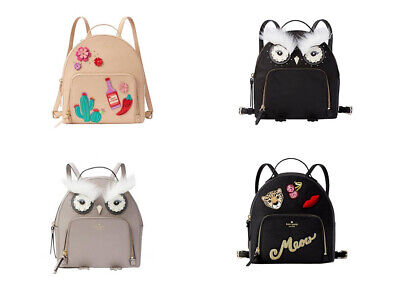 $ CDN113.56 • Buy 🌸Kate Spade TOMI BACKPACK STAR BRIGHT OWL New Horizons Cactus Run Wild Leopard