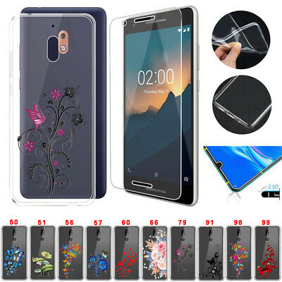 AU8.92 • Buy TPU Case Cover Tempered Glass Screen Protector For Nokia 4.2 6.2 7.2 2.3 1 Plus