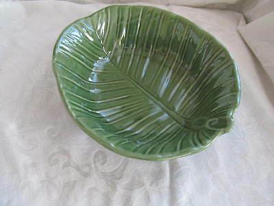 $20.99 • Buy Roscher & Co Green Leaf Collection 10   Serving Bowl  NEW