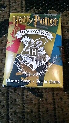 $9.99 • Buy Harry Potter Hogwarts House Theme Playing Cards - 54 Cards