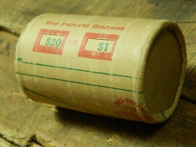 $0.99 • Buy $20 Silver Dollar Roll Morgan Peace Dollar Mixed Dates Covered End Coins