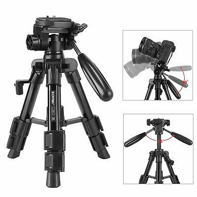 AU35.99 • Buy ZOMEI Mini Table Tripod Stand With Pan Head For DSLR Camera Youtube Live Video