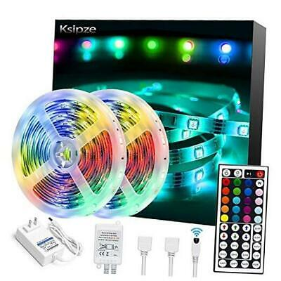 $40.59 • Buy LED Strip Lights For Room With Remote 32.8ft Color Changing RGB 300 LEDs