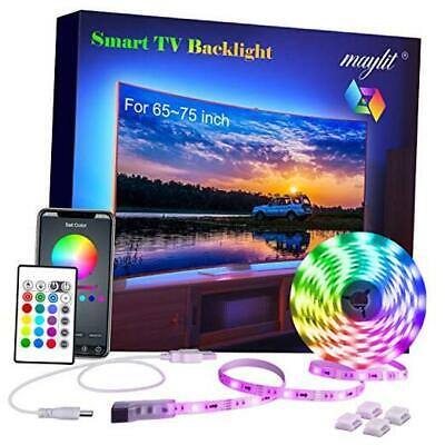 $33.39 • Buy LED Strip Lights With Remote And App For Room  14.3ft  With Color Changing