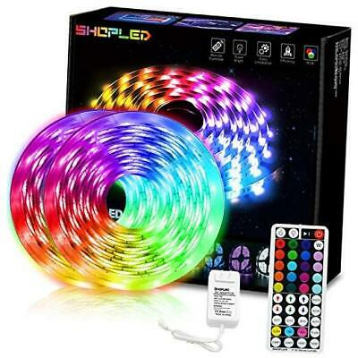 $58.54 • Buy LED Strip Lights With Rf Remote, For Room/Car 32.8ft RGB Color Changing Flexible
