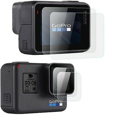 $ CDN6.03 • Buy For GoPro Hero 7 (Black Only) Lens + Lcd Screen Glass Screen Protector