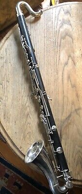 $375 • Buy Bundy Bass Clarinet Resonite Many New Pads