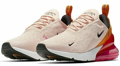 $125.99 • Buy Nike Women's Air Max 270 Running Shoes Washed Coral Black AH6789-603 NEW