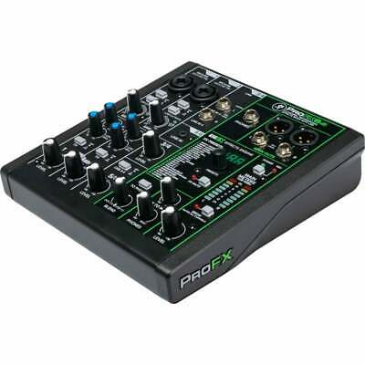 $187.02 • Buy Mackie ProFX6v3 Professional Effects Mixer With USB