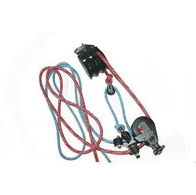 $541.31 • Buy NAUTOS 92655-134R Mainsheet System Set Of Blocks-75mm & 28mm Sheave. With Rope